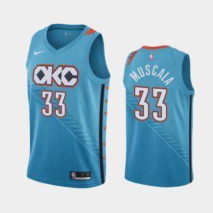 Oklahoma City Thunder Mike Muscala Jersey